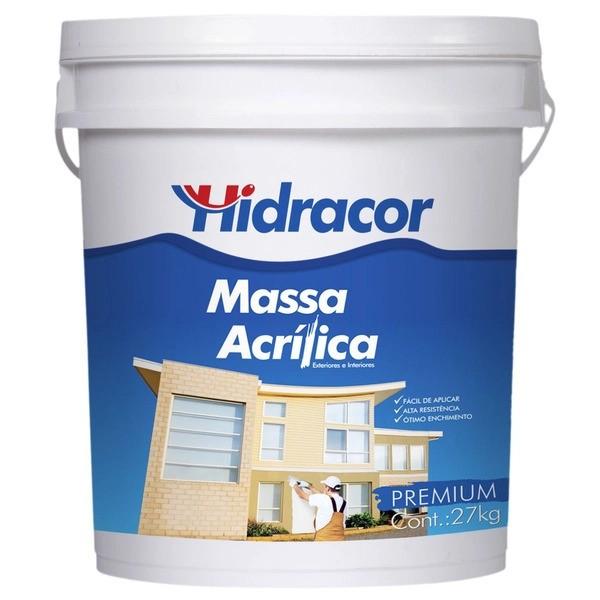 Massa Acrílica 0,9 Litros/1,4kg Hidracor
