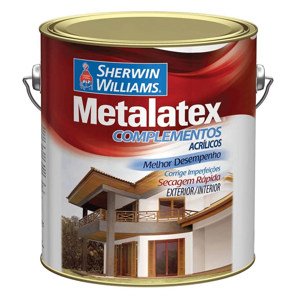 Massa Acrílica Metalatex 3,6 Litros Sherwin Wiliams