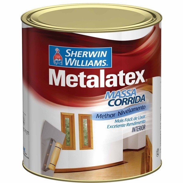 Massa Corrida Metalatex 0,9ml Sherwin Wiliams