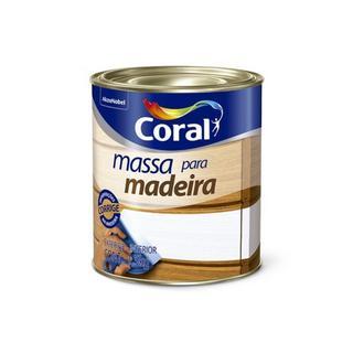 Massa Óleo para Madeira 0,9 Litros/1,5kg Coral