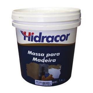 Massa para Madeira 0,9 Litros/1,4kg Hidracor