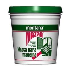 Massa para Madeira Montana Mazza 1,6kg Mogno Montana