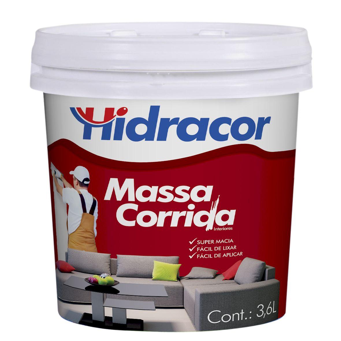 Massa PVA Hidracor 3,6 Litros/5,5kg Hidracor