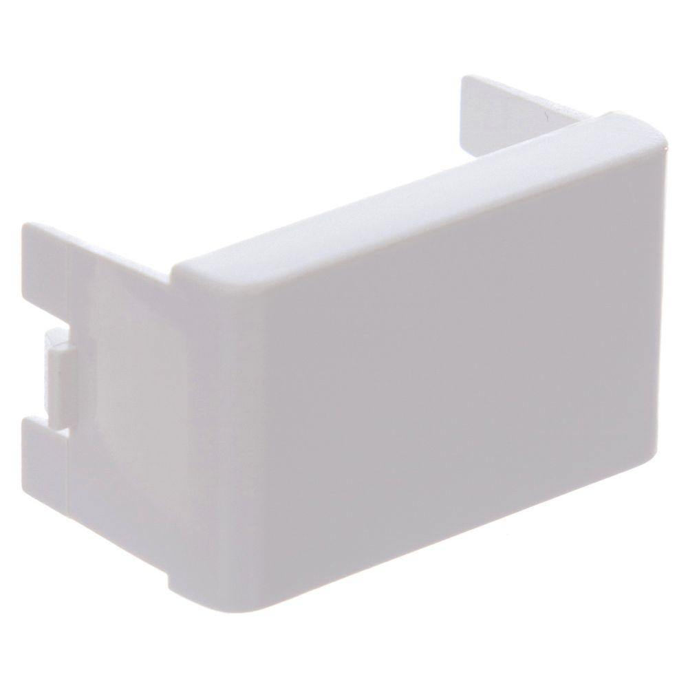 Módulo Cego 1 Módulo 2 Peças PRM04801 Branco Schneider