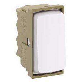 Módulo Interruptor Bipolar Simples 25A 680154 Zeffia Branco Pial