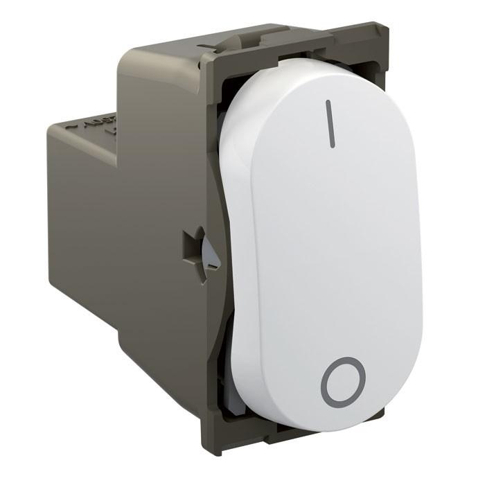 Módulo Interruptor Bipolar Simples 25A Nereya 663006 Branco Pial