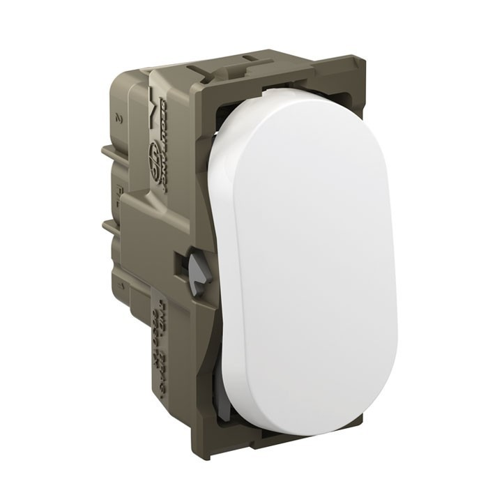 Módulo Interruptor Intermediário Nereya 663004 Branco Pial