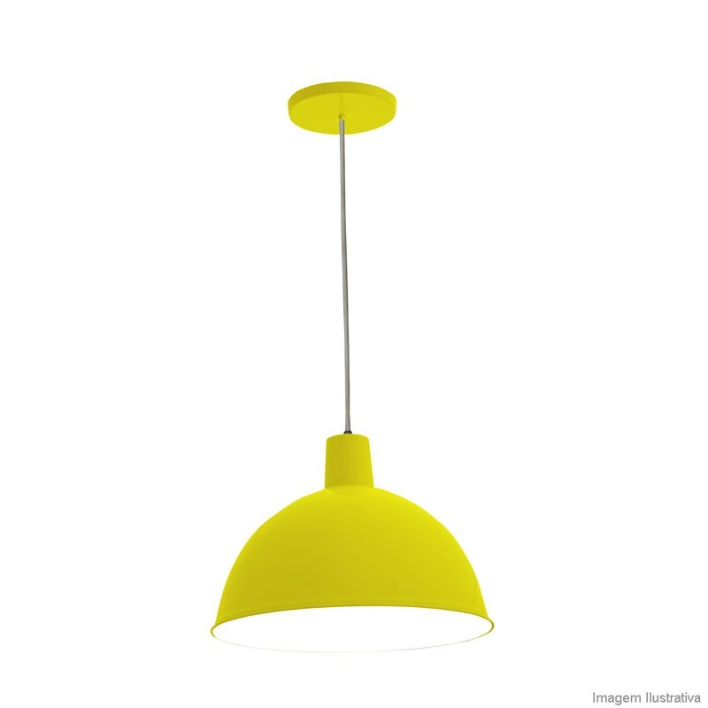Pendente Design TD-821 Amarelo 14505 Taschibra