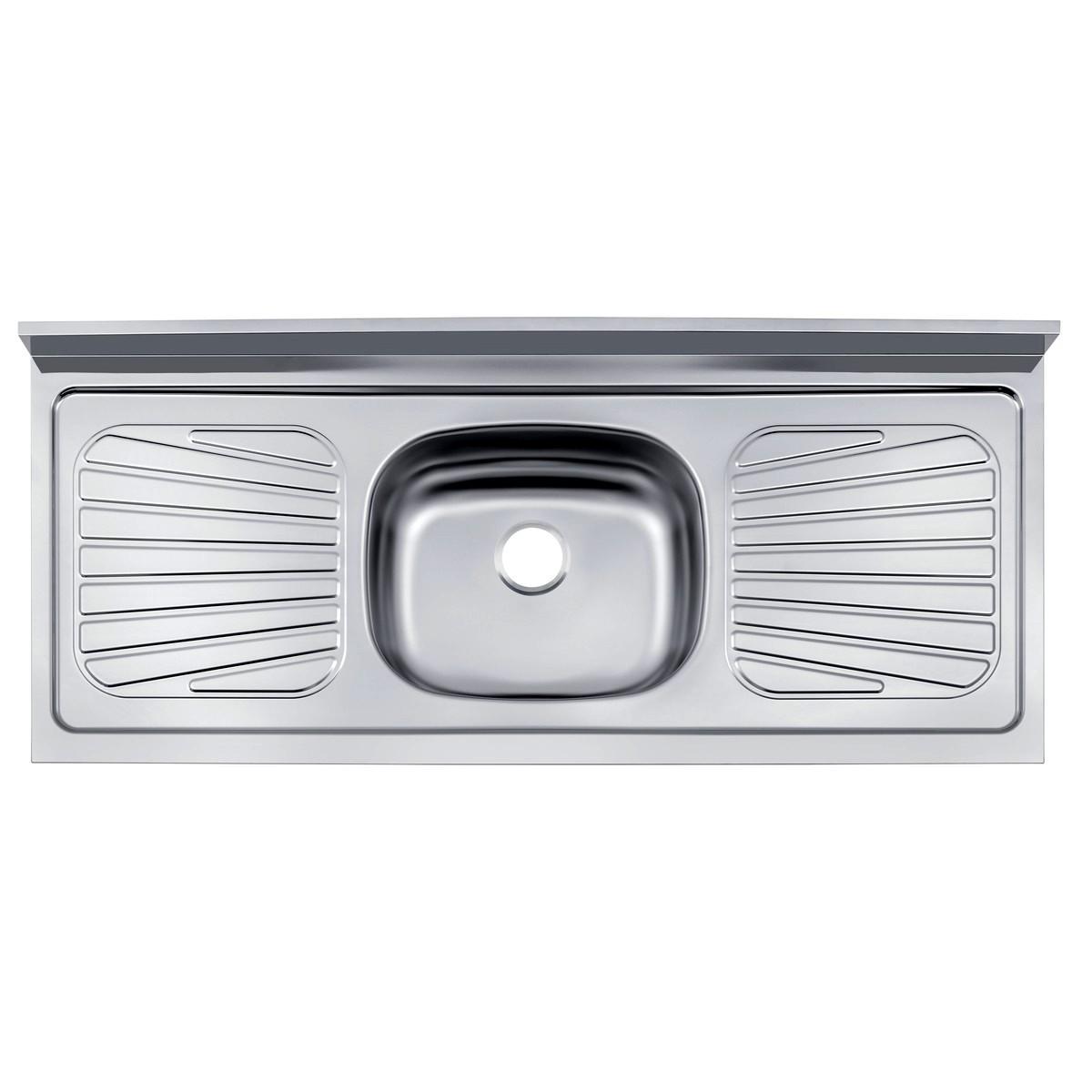 Pia de Cozinha Aço Inox 430 sem Válvula 93041/506/556 120x52cm Tramontina