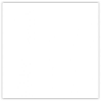 Piso Cerâmico Aurora A Caixa 2,30m² 46x46cm Branco Cerbras