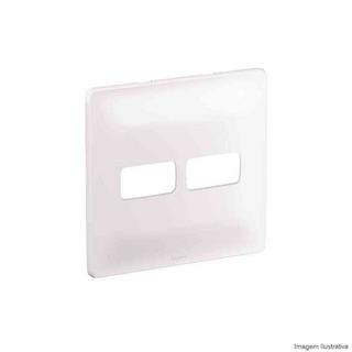 Placa 1+1 Posto Cego 680174 Zeffia 4x4 Branco Pial