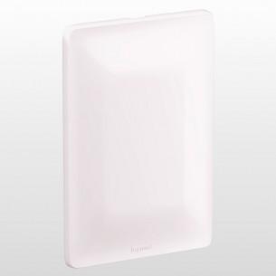 Placa Cega com Suporte 680180 Zeffia 4x2 Branco Pial