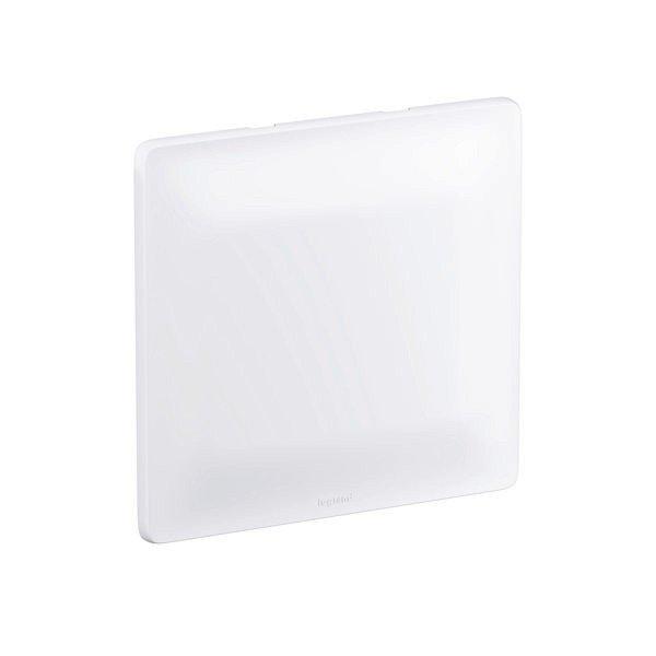 Placa com Suporte Cega 680173 Zeffia 4x4 Branco Pial