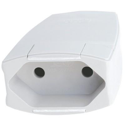 Prolongador 2P 10A 250V 51002 Branco Pial