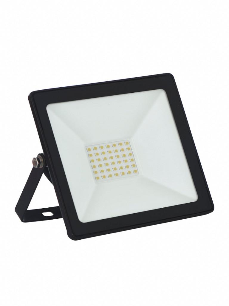 Refletor TR LED 30W Slim 3000K Autovolt Preto Taschibra