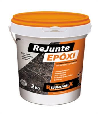 Rejunte Epóxi Branco 2Kg Rejuntamix