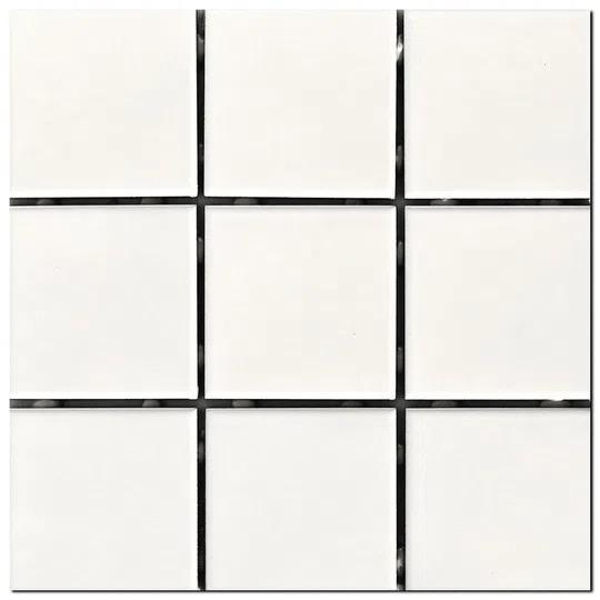 Revestimento Cerâmico Cristal A Caixa 1,80m² 10x10cm Branco Elizabeth