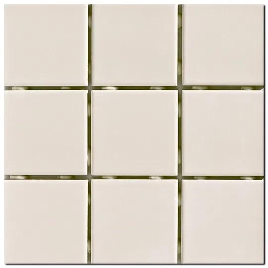 Revestimento Cerâmico Esmaltado Bold Lux A Caixa 1,80m² 10x10cm Creme Elizabeth