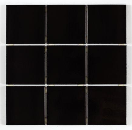 Revestimento Cerâmico Esmaltado Bold Lux A Caixa 1,80m² 10x10cm Negro Elizabeth