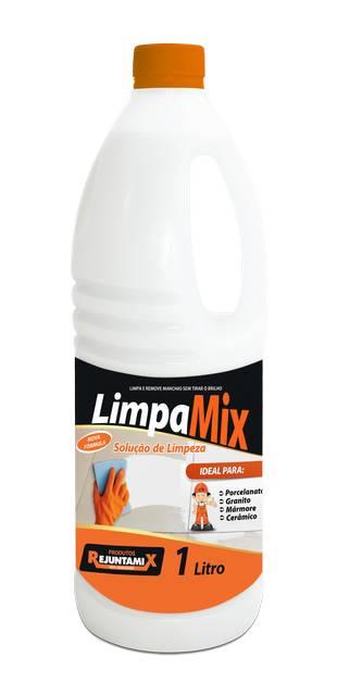 Solução de limpeza Limpamix 1 Litro Rejuntamix