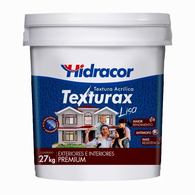 Textura Texturax Lisa 18 Litros/27K Amarelo Floral Hidracor