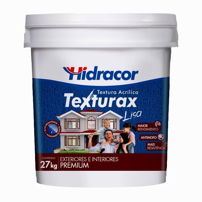 Textura Texturax Lisa 18 Litros/27kg Branco Hidracor