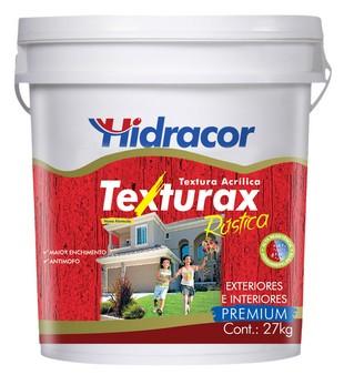 Textura Texturax Rústica 18 Litros/27kg Branco Hidracor