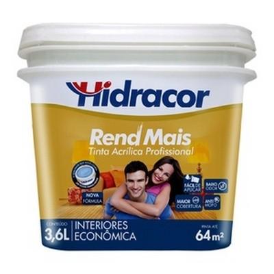 Tinta Acrílica Hidralacril 3,6 Litros, Palha Hidracor