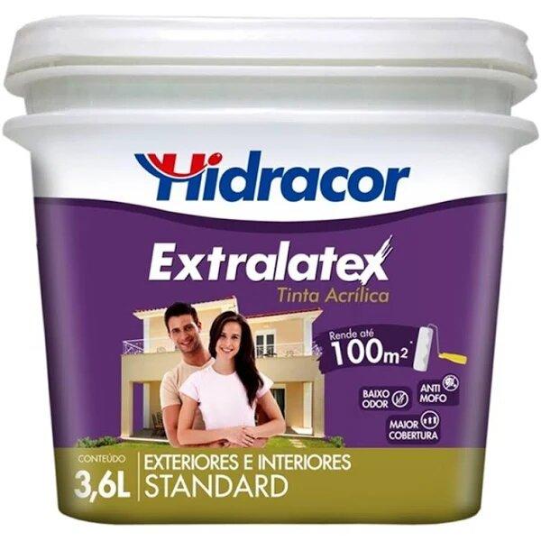 Tinta Extralatex 3,6 Litros Areia Hidracor