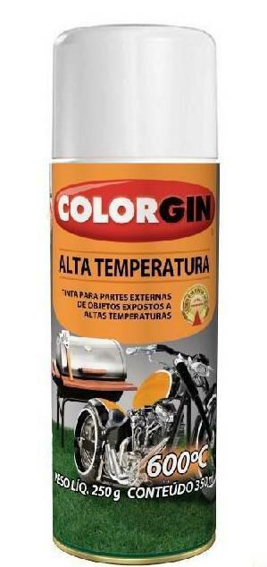 Tinta Spray Alta Temperatura Branco 300ml Sherwin Williams