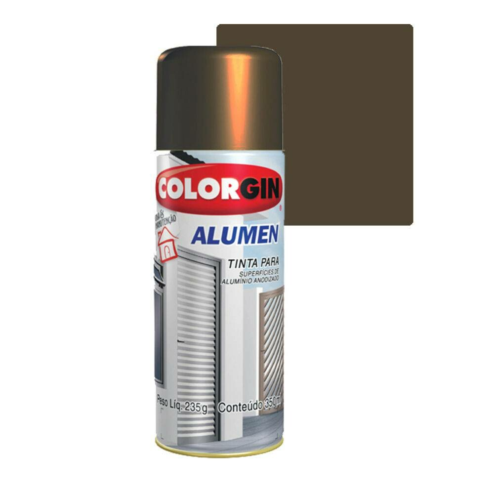 Tinta Spray Alumen Bronze 1002 Sherwin Williams