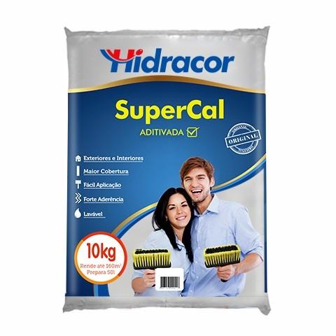 Tinta Supercal 10kg Branco Hidracor