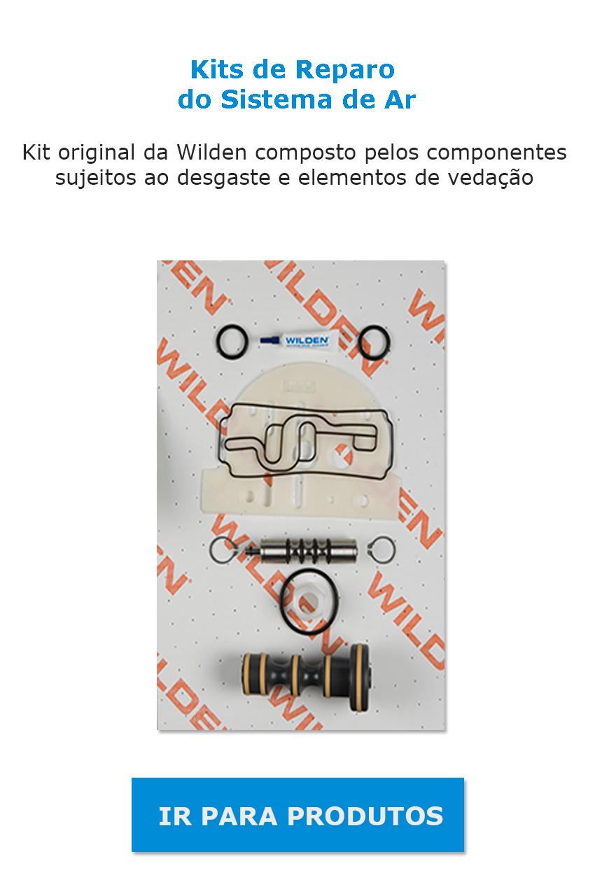 kits de reparo para sistema de ar