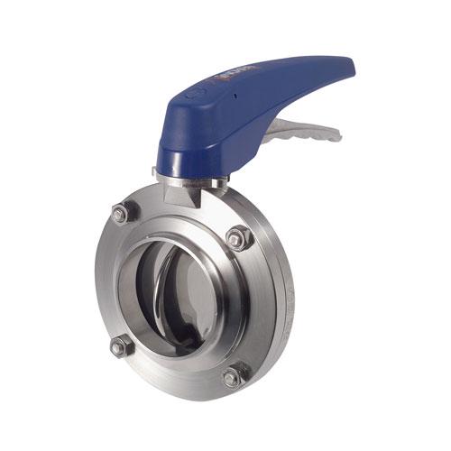Válvula Borboleta Manual Inox - Solda - 304L - EPDM
