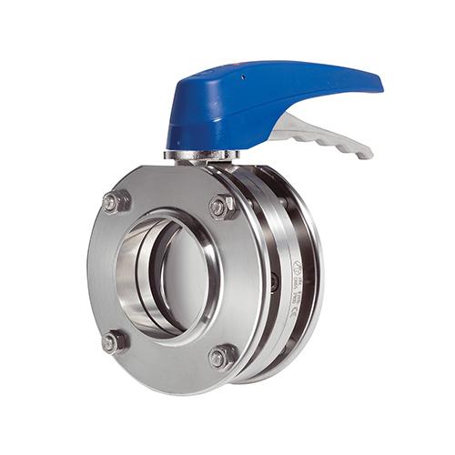Válvula Borboleta Manual Inox - Flange - 316L - EPDM