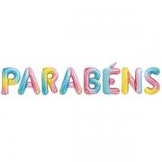 BALAO PARABENS 16 ARCOIRIS 8599