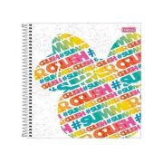 CADERNO CD MINNIE 1X1 80F 290939