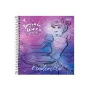 CADERNO CD PRINCESAS 10X1 160F 308404