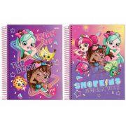 CADERNO CD SHOPPIES 10X1 200F 63587