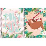 CADERNO CD TROPICAL FE 20X1 400F 6324