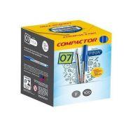 CANETA COMPACT 07 100P VM 851002
