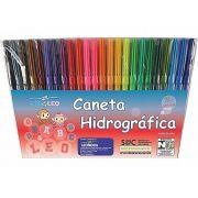 CANETA HIDROGRÁFICA  LEO&LEO 24 CORES 4582