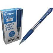 CANETA PILOT S GR 1.0 BPGP-10R-M AZUL 12 UNIDADES