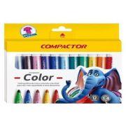 CANETINHA COMPACTOR COLOR COM 12 CORES 81000