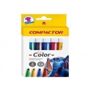 CANETINHA COMPACTOR COLOR COM 6 CORES 83000