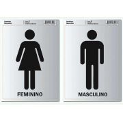 ETIQUETA PIMACO SINALIZAÇÃO FEMININO E MASCULINO 5000601
