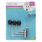 GANCHO TRIPLO INOX WINCY IXD01045