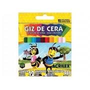 GIZ DE CERA ACRILEX 12 PEÇAS 9012