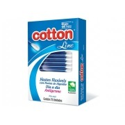 HASTES FLEXIVEIS COTTON 75P 601