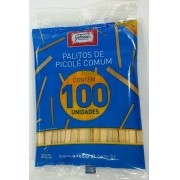 PALITOS PICOLE GABOARD 100 PEÇAS LO1501U